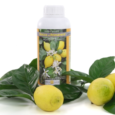 Vloeibare Citrus meststof ' gocce Di Primavera' 1kg